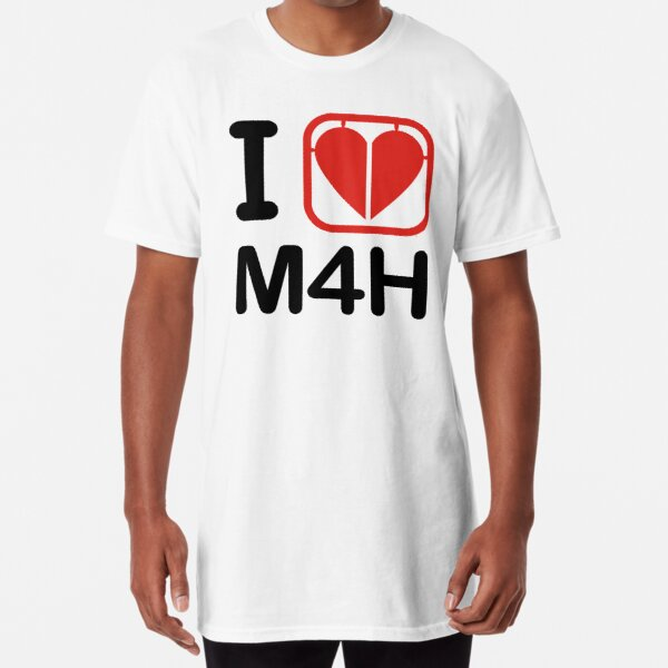 I HEART M4H Long T-Shirt
