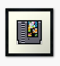 NES Cartridge Framed Print