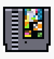 NES Cartridge Photographic Print
