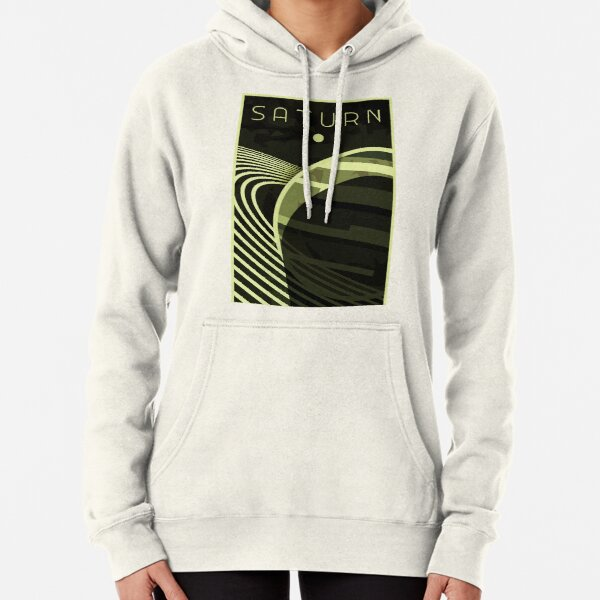 Saturn - The Ringed planet Pullover Hoodie