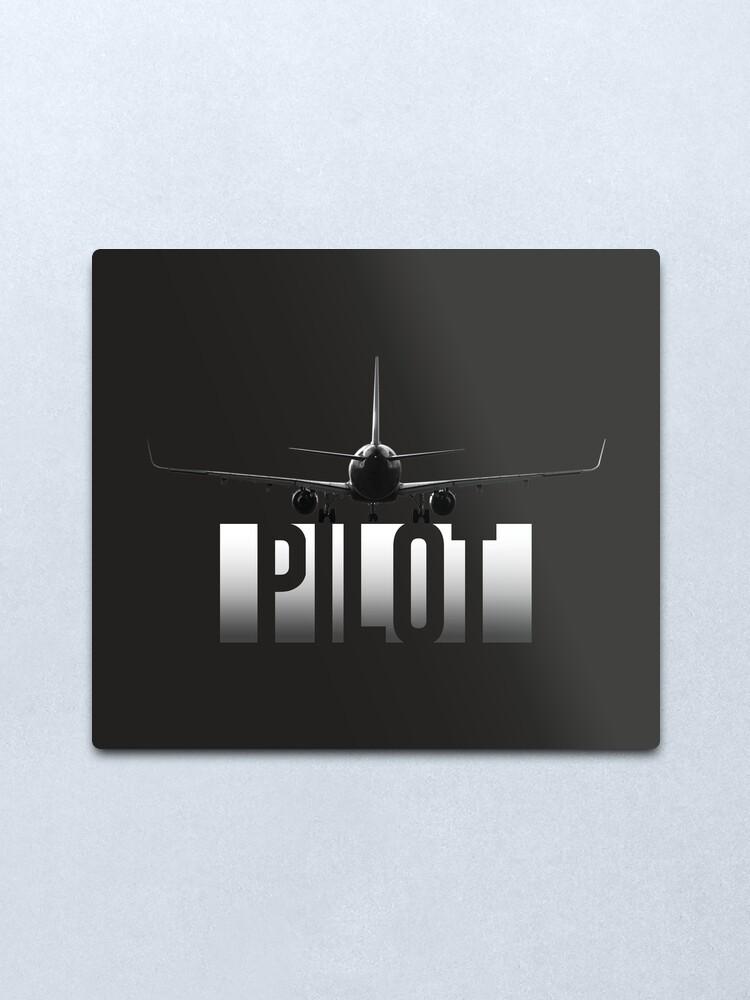 Alternate view of Pilot Metal Print