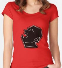 Shout Women's Fitted Scoop T-Shirt