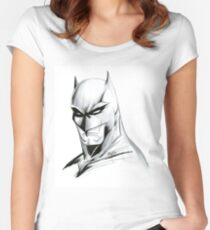 The Caped Crusader Women's Fitted Scoop T-Shirt