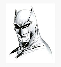 The Caped Crusader Photographic Print