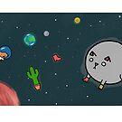 Heckin Space Mug by Steven Stills