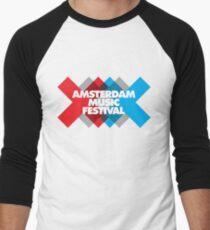 2935d4c28a1 Amsterdam Music Festival - AMF Baseball ¾ Sleeve T-Shirt