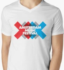 Amsterdam Music Festival - AMF Men's V-Neck T-Shirt