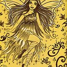 Yellow Fantasy Fairy by Kashmere1646