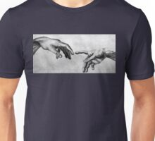 Michelangelo's Creation of Adam - Own Rendition Unisex T-Shirt