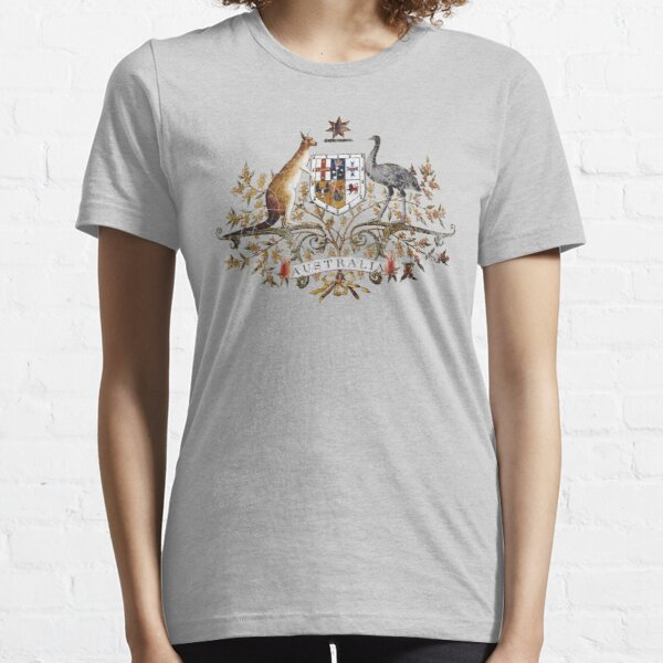 Aussie Coat of Arms Essential T-Shirt