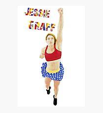 Jessie Graff American Ninja Warrior Photographic Print