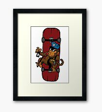 Monkey Police Framed Print