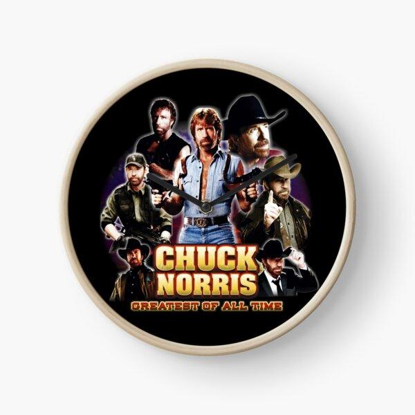 Chuck Norris GOAT Clock