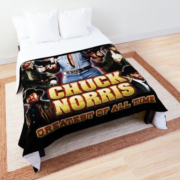 Chuck Norris GOAT Comforter
