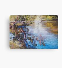 'Swirls & Ripples - Goulburn River' Canvas Print
