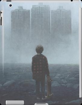 Boy And The Giants by yurishwedoff