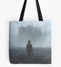 Boy And The Giants Tote Bag