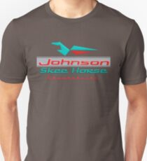 Johnson Skeehorse Vintage Snowmobiles T-Shirt