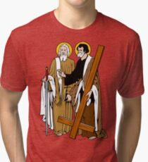 ST PETER AND ST PAUL Tri-blend T-Shirt