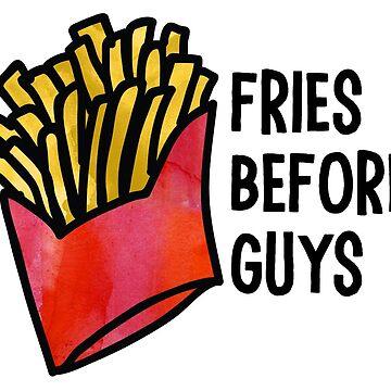 Papas fritas antes chicos de kayceedesigns
