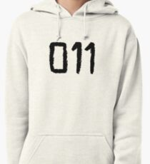011 - Eleven Tattoo Design (Stranger Things) Pullover Hoodie