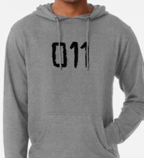 011 - Eleven Tattoo Design (Stranger Things) Lightweight Hoodie