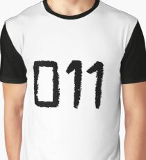 011 - Eleven Tattoo Design (Stranger Things) Graphic T-Shirt