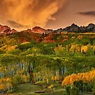 A Colorado Autumn Along Kebler Pass by John  De Bord Photography