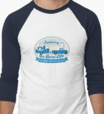 Exploring the Local Life Blue Truck and Camper T-Shirt