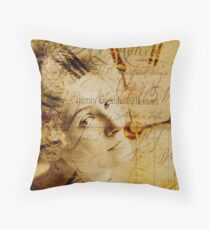 Remembrance of Times Past Throw Pillow