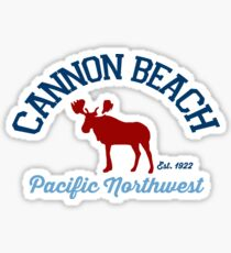 Cannon Beach. Sticker