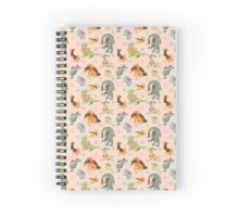 Johto Starters Spiral Notebook