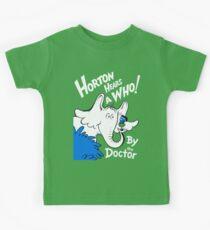 Horton Hears Doctor Who! Kids Tee