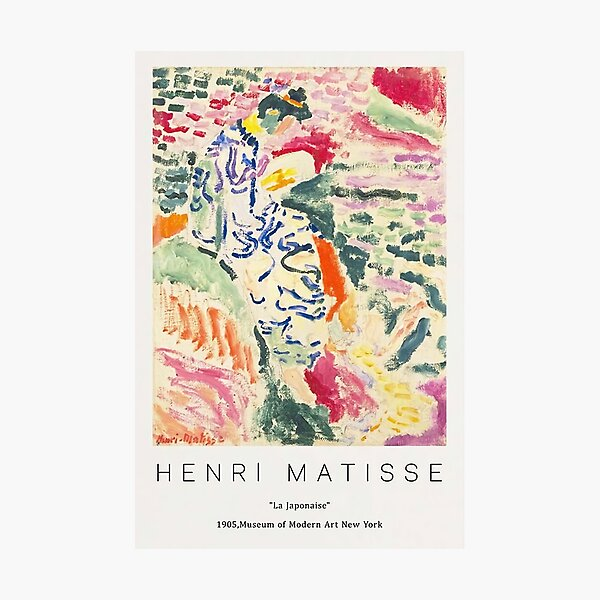 Henri The japoanise Photographic Print