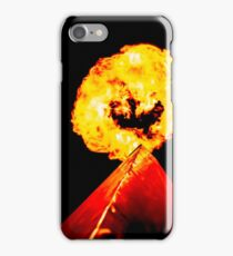 Phoenix Flame Tower iPhone Case/Skin