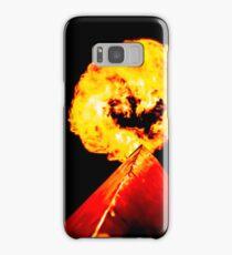 Phoenix Flame Tower Samsung Galaxy Case/Skin