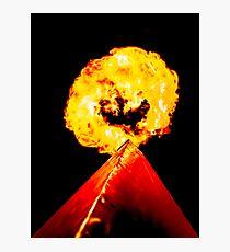 Phoenix Flame Tower Photographic Print