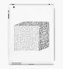 Square Cube iPad Case/Skin