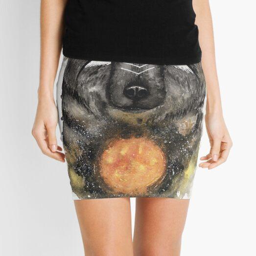 Copernicus the Sun Bear. Mini Skirt