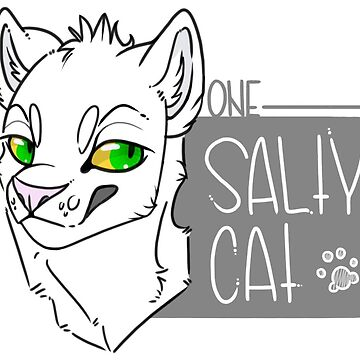 One Salty Cat (White) by sephinta