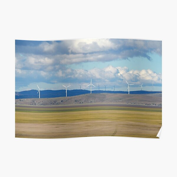 Capital Wind Farm (Australia) Poster