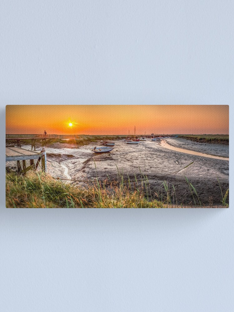 Alternate view of Sunset at Morston Creek Canvas Print