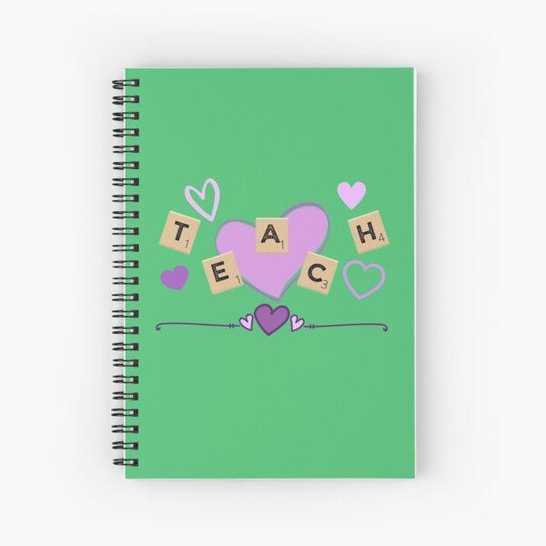 Scrabble Teach Spiral Notebook