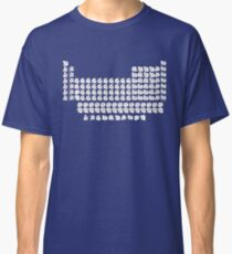 Cat Periodic Table Classic T-Shirt