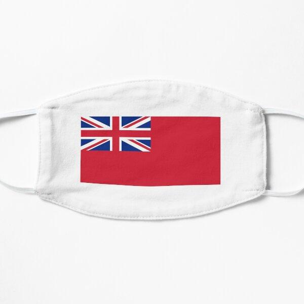 Red Ensign. NAVY, Merchant Navy, Flag, Red Duster, Royal Navy Flag. Flat Mask