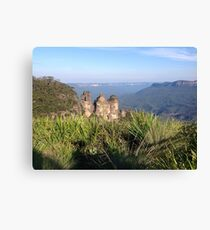 Three Sisters, Blue Mountains, Australia Canvas Print