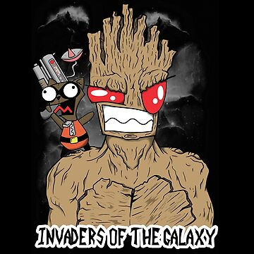 Invaders Of The Galaxy by stuffofkings