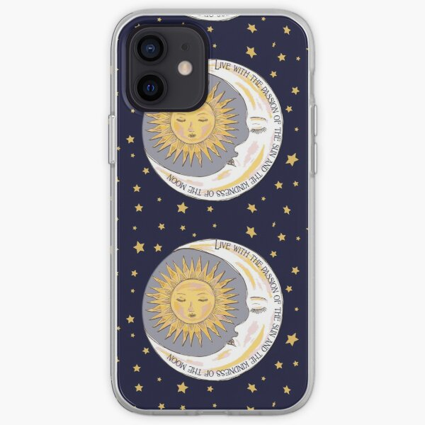 Sun, Moon and Stars iPhone Soft Case
