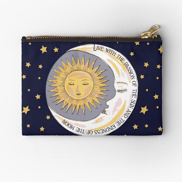 Sun, Moon and Stars Zipper Pouch
