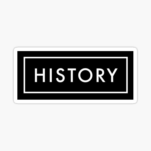 History Sticker